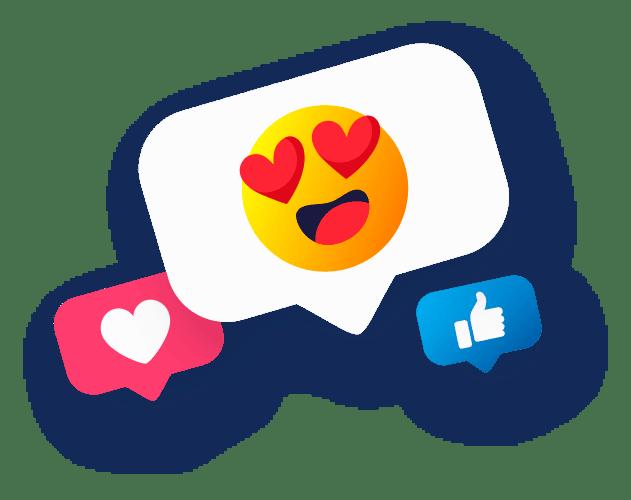 emoji1 - Influenciadores Digitais de Alto Impacto