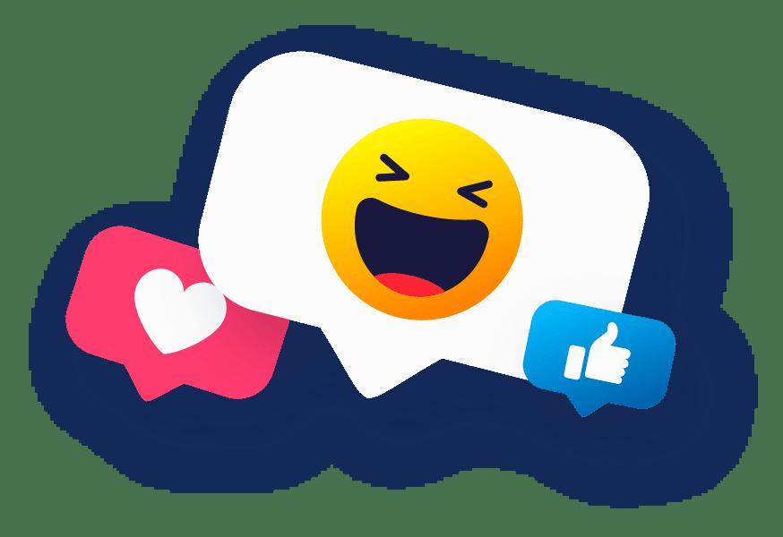 emoji2 - Influenciadores Digitais de Alto Impacto
