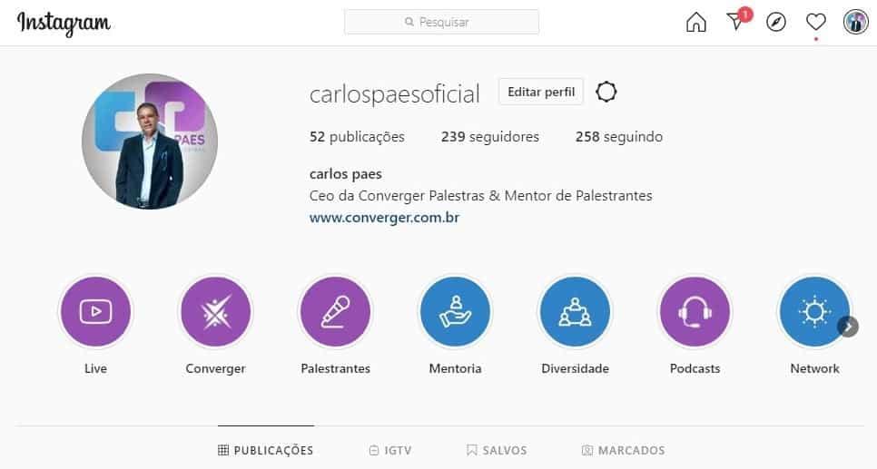 Instagran @carlospaesoficial 1 - 7 estratégias fundamentais para você se tornar um palestrante de sucesso!