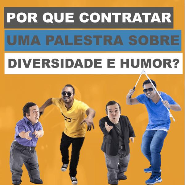 Por que contratar uma palestra sobre diversidade e humor