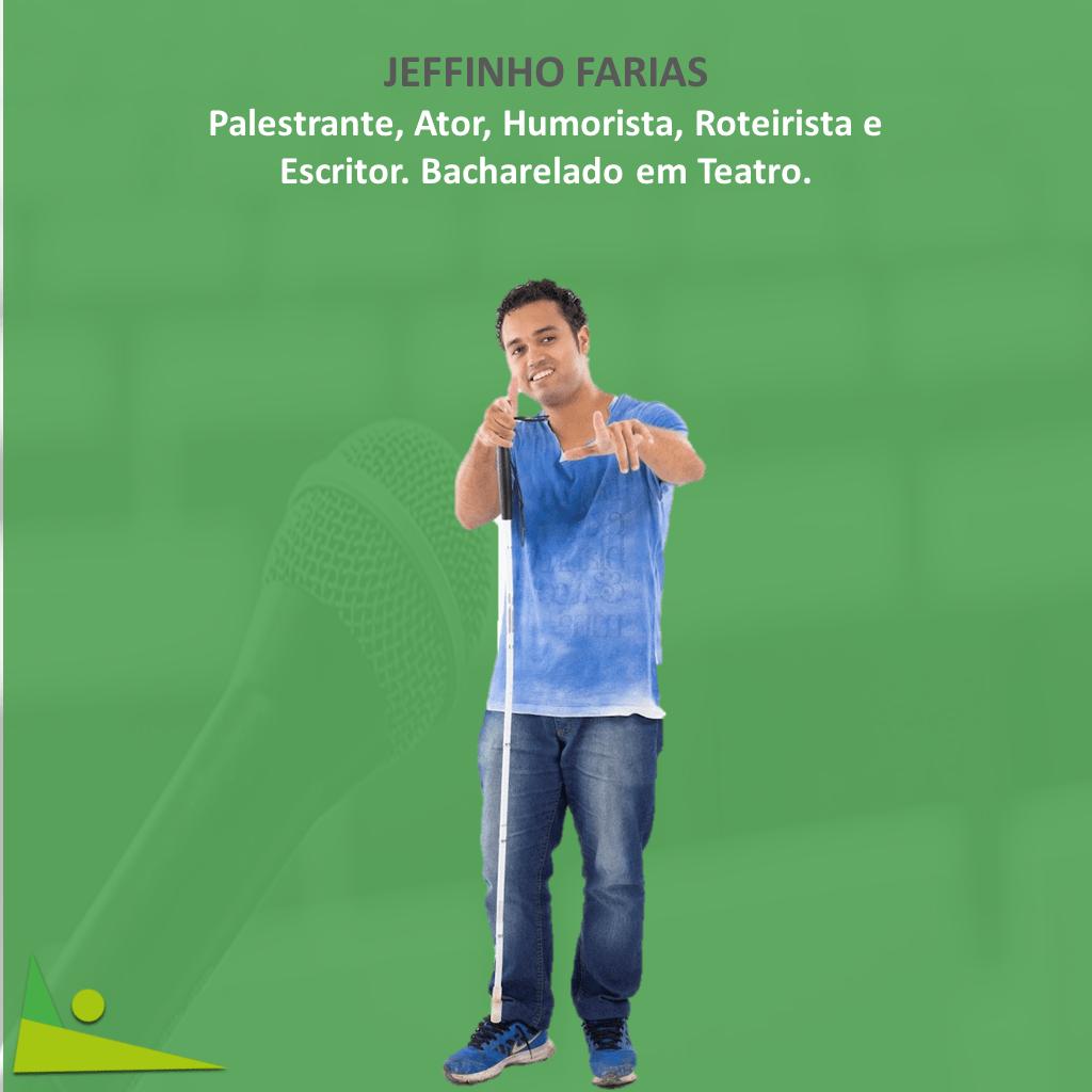 jeffinho - 1º vídeo de Stand up Comedy totalmente acessível do Brasil