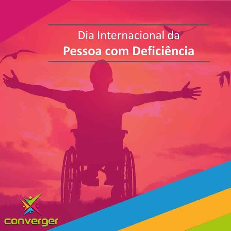 Dia Internacional da pessoa com deficiencia  - Você conhece o calendário da Diversidade?