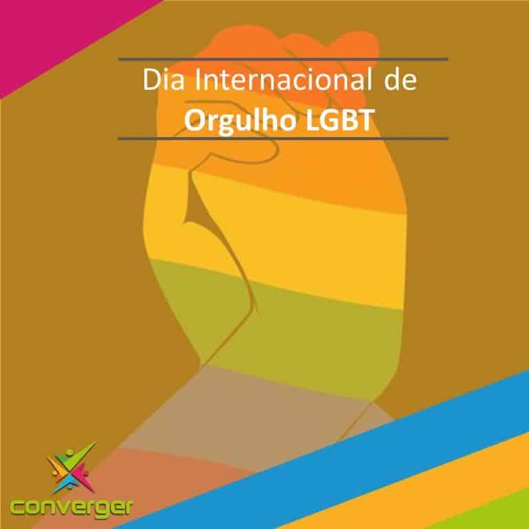 Dia internacional do Orgulho LGBT  - Você conhece o calendário da Diversidade?