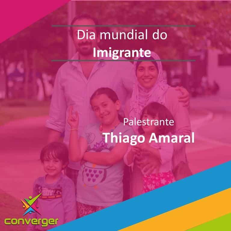 Dia mundial do imigrante  - Você conhece o calendário da Diversidade?